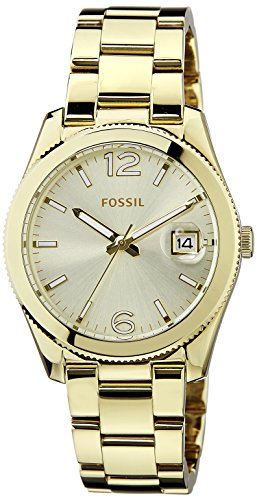 Fossil Perfect Bo Analog Gold Dial Women's Watch -ES3586