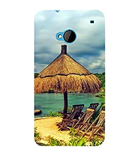 PrintVisa Designer Back Case Cover for HTC M7 :: HTC One M7 (Holiday Season)