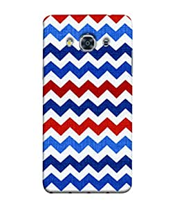 Fuson Designer Back Case Cover for Samsung Galaxy J3 Pro :: Samsung Galaxy J3 (2017) (Multicolor Continous Lines Youth Young Generation Students)
