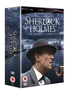 sherlock holmes the complete collection dvd amazonco