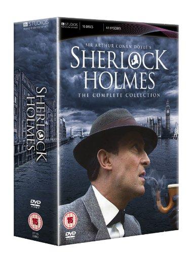 4 Sherlock-serie (Sherlock Holmes Boxset [16 DVDs] [UK Import])