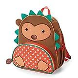 Skip Hop 210221 Zoo Kleinkind Rucksack, mit Namensschild, mehrfarbig, Igel Hudson