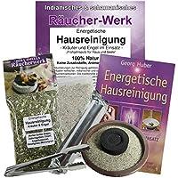 Räucherset 7-teilig Räuchermischung Energetische Hausreinigung #81045 | Mit Räucheranleitung, Räucherzange, Räuchersand... preisvergleich bei billige-tabletten.eu