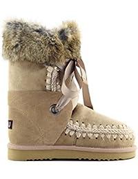 Bota Mou Eskimo Lace And Fur En Ekate 40