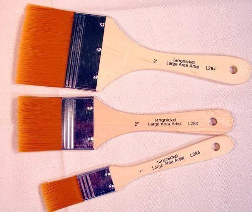 3-large-area-gold-taklon-paint-brushes-great-for-acrylics-stains-more-by-royal-brush