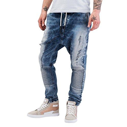 Bangastic Homme Jeans / Antifit Waistband Bleu