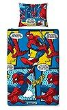 Marvel Set 'Webhead' di copripiumino singolo di Ultimate Spiderman – stampa con disegno ripetuto