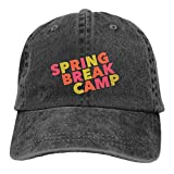 SKIJJINM Cowboy Hat Spring Break Camp Denim Skull Cap Baseball Cowgirl Sport Hats for Men Women