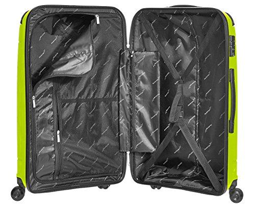 Packenger Silent Hartschale L Koffer, 71 Liter, Hellgrün - 4