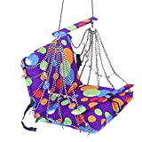 #10: Sita Ram Retails Cloth Multi Colour Hanging Home Swing for Baby (SRR-43)