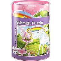 Preisvergleich für Schmidt Spiele 56915 Einhorn Puzzles in Spardose, 60 Teile
