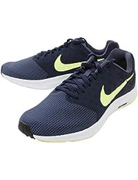 Nike Men's Navy/Green Downshifter 7 Running Shoes