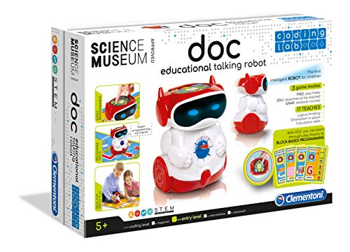 Clementoni 61323 Doc, Robot educativo Intelligente