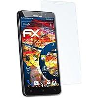 3 x atFoliX Antichoque Película Protectora Lenovo A616 Protector Película - FX-Shock-Clear