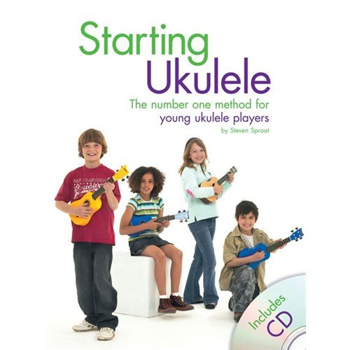 Starting Ukulele (Book/CD). Partitions, CD pour Ukelele