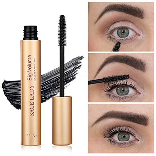 Cocohot Mascara Maquillage Curling Épais Black Eye Cils Mascara Professionnel Maquillage Gros Volume Naturel Cils Cosmétiques