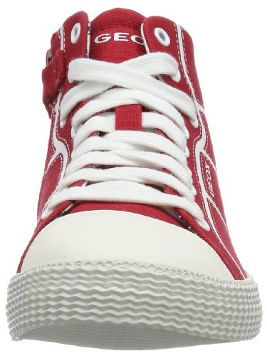 Geox J Smart B. A, Baskets mode garçon Rouge (Red)