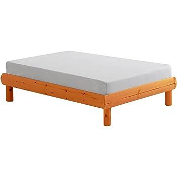 Erst Holz Kinderbett Kurzes Bett Jugendbett 90x190 Kiefer Natur