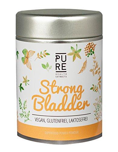 Superfood Mix Strong Bladder von PURE Health Extracts | Superfood Pulver mit Vitamin C, Eisenkraut & Brennnessel | Geeignet für deinen Smoothie & Müsli