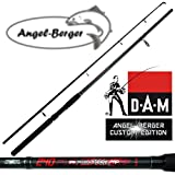 DAM Spinnrute Steckrute Angel Berger Custom Edition in verschiedenen Längen (2.40m)