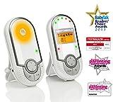 Motorola MBP16 Digitales Babyphone mit Hintergrundbeleuchtung bis zu 300 m Reichweite - 2