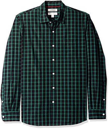 Goodthreads Standard-Fit Poplin Two-Color Check Shirt