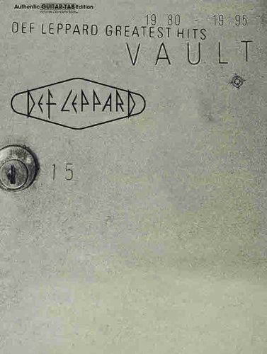 Vault: Def Leppard Greatest Hits (Authentic Guitar Tab)