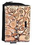 Fridolin Porte-Monnaie Klimt l'arbre de Vie, 12 cm, Multicolore