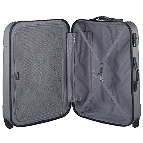 Swissgear valigia, 72 cm, 94 L, nero (Nero) - 2045839 rosso