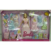 Barbie Chic Vacation Gift Set Doll With 5 Extra Fashion And Accessories By Mattel in 2009 - The box is in very poor condition