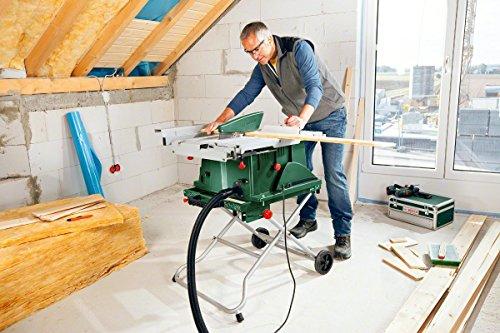 Bosch Tischkreissäge PTS 10 mit mobilem Untergestell PTA 2000 - 5