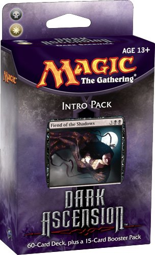 Magic the Gathering Dark Ascension DKA Sealed Intro Starter Deck Black White Dark Sacrifice by Wizards of the Coast (English Manual) (Starter Pack Magic The Gathering)