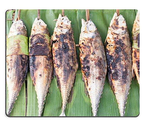Almohadillas a la Parrilla, Torpedo, Pescado Scad, Comida tailandesa, Estera, computadora de Escritorio, portátil, Juegos, Mouse Pad, Mouse Pad