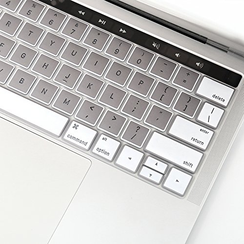 premium selection df24e 1e1d0 JRC Macbook Pro 13 Inch with Touch Bar Keyboard Cover; MacBook Pro 15 inch  Keybo