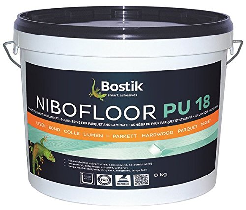 Bostik Nibofloor PU 18 PU Klebstoff Parkett Laminat 8.0kg Eimer