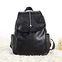 Aboygo Multi-Function Women Travel Backpack, Casual Rucksack, Fashion Leather, Travel Wide Open Back to School Backpack for Women