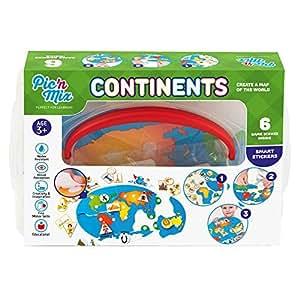 picnmix continents jeux et jouets ducatifs pour les enfants de 4 ans 7 ans jeux. Black Bedroom Furniture Sets. Home Design Ideas