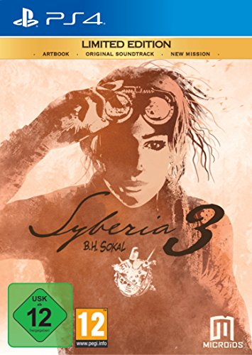 Pack Syberia 3 PS4 Limited Edition