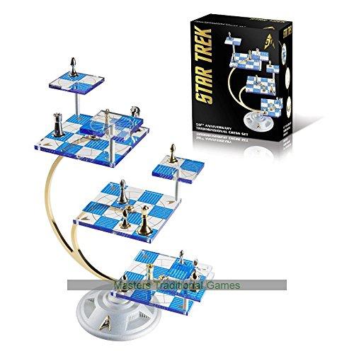 STAR TREK Tridimensional Chess Set - 3D Schach