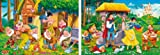 Clementoni 24501.7 Jigsaw Puzzle 2 x 20 Pieces Snow White