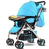 Kinderwagen Kinderwagen sitzen liegen superleichte tragbare faltbare Kinderwagen vierrädern Babywagen, 80x51x101cm