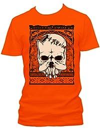 Native skull Cooles Party Herren Shirt