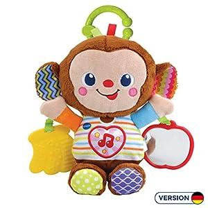 VTech Baby 80-513404 Juguete interactivos - Juguetes interactivos, Felpa, Mono, 2 año(s), Chica, LR44