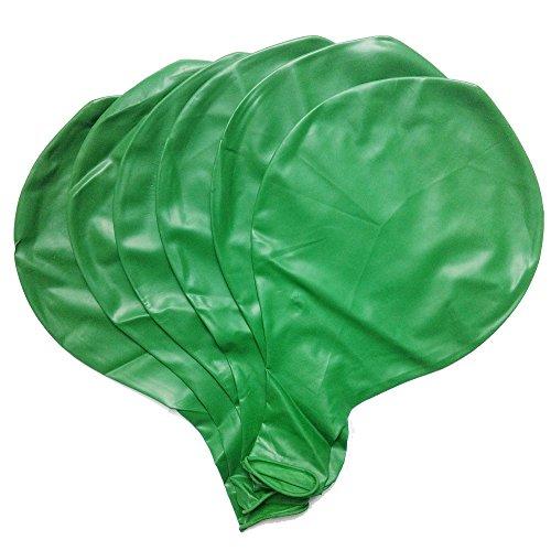 Baanuse Globos Gigantes 36' en Verde 6pcs