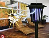 Best Solar Bug Zappers - 3in1 Mosquito Insect Zapper Killer Bug Repeller Solar Review
