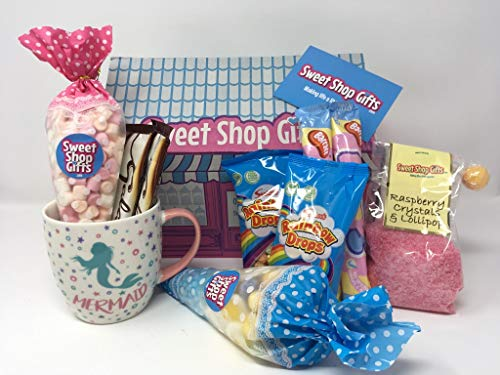 The Mermaid Soup Mug and Sweets Gift Hamper - Sweet Shop Gifts