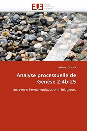 Analyse processuelle de genèse 2:4b-25