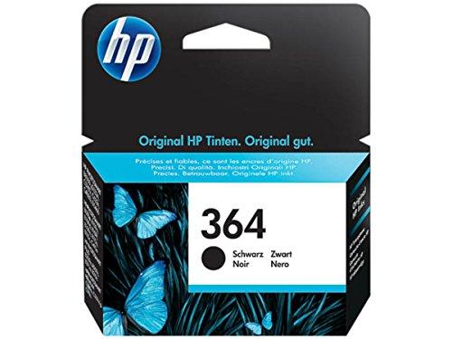 Original Tinte passend für HP PhotoSmart Wireless e-All-in-One B 110 a HP 364 , 364BK , 364BLACK , NO364 , NO364BK , NO364BLACK , Nr 364 CB316EE , CB316EEABB , - 110 Hp-drucker-patronen,