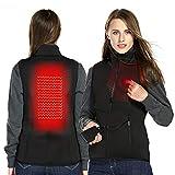 DEKINMAX Heated Vest Heating Jacket for Women Electric USB Charged Warm Gilet
