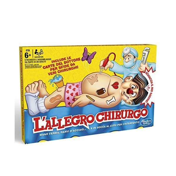 Hasbro Gaming - L'Allegro Chirurgo: Buzz Lightyear (gioco in scatola) 2 spesavip
